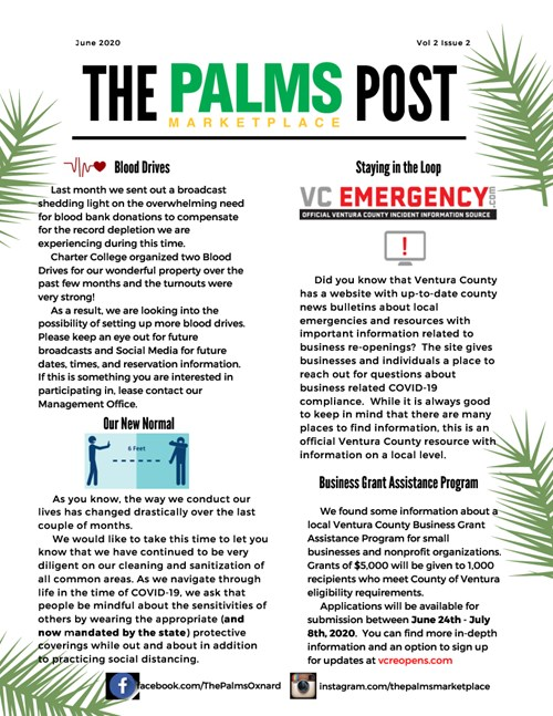 The Palms Post June 2020 Thumbnail